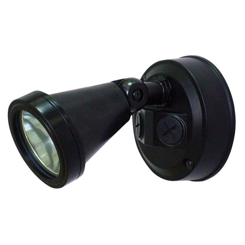 Cadet IP44 G9 Single Exterior Spotlight - Black (Oriel Lighting)