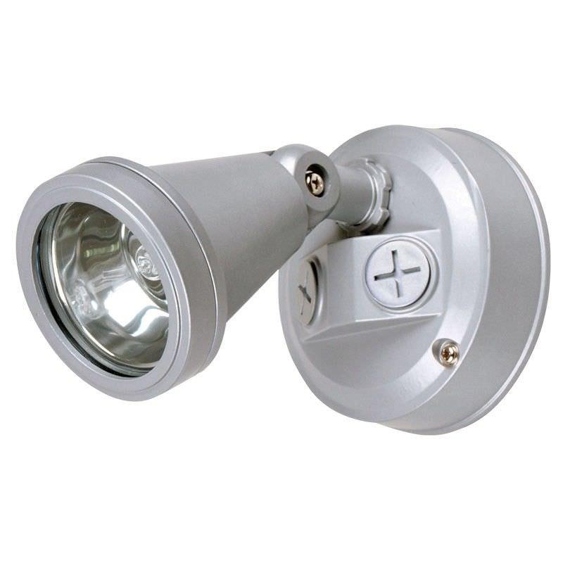 Cadet IP44 G9 Single Exterior Spotlight - Silver (Oriel Lighting)