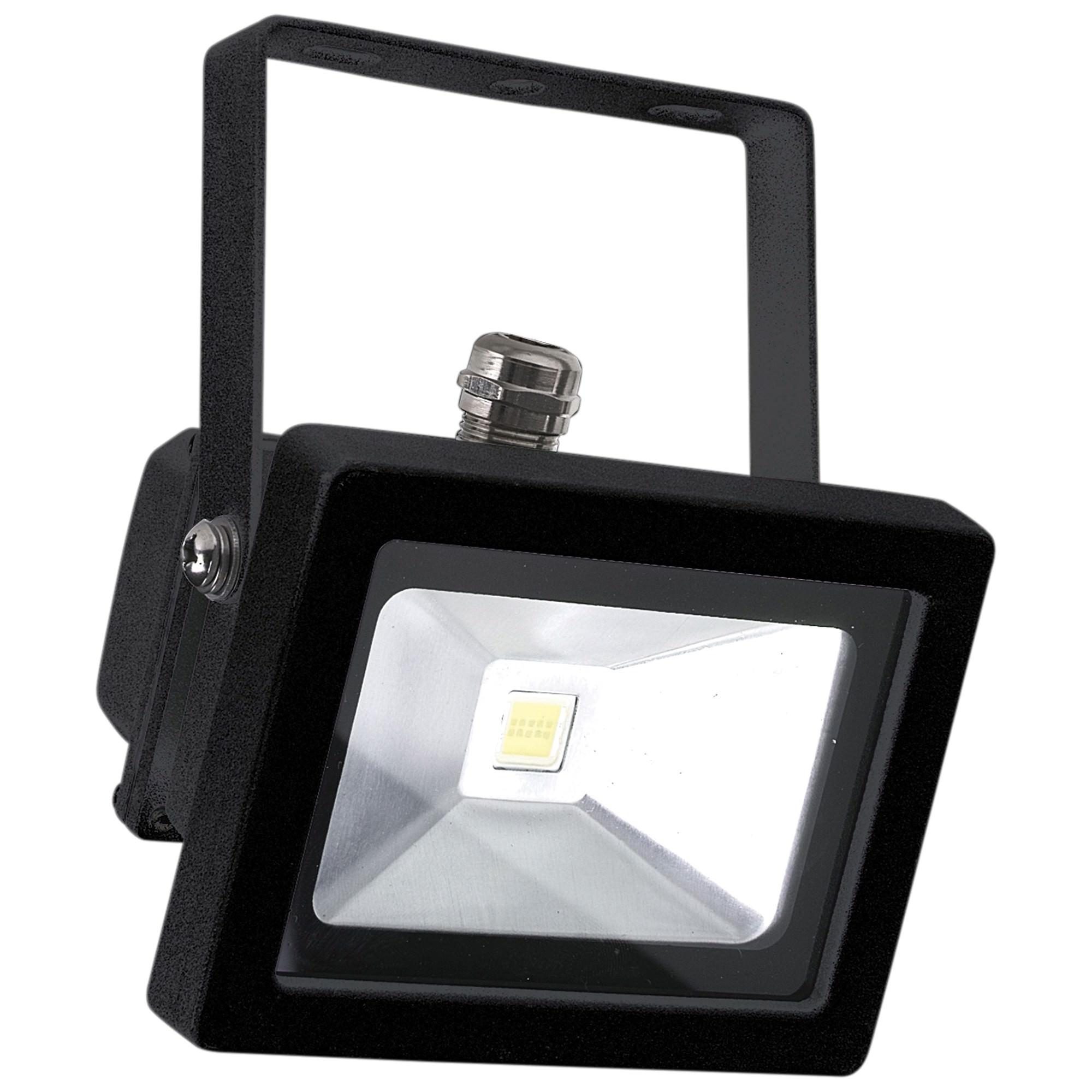 Foco IP65 LED Floodlight, 10W, Black