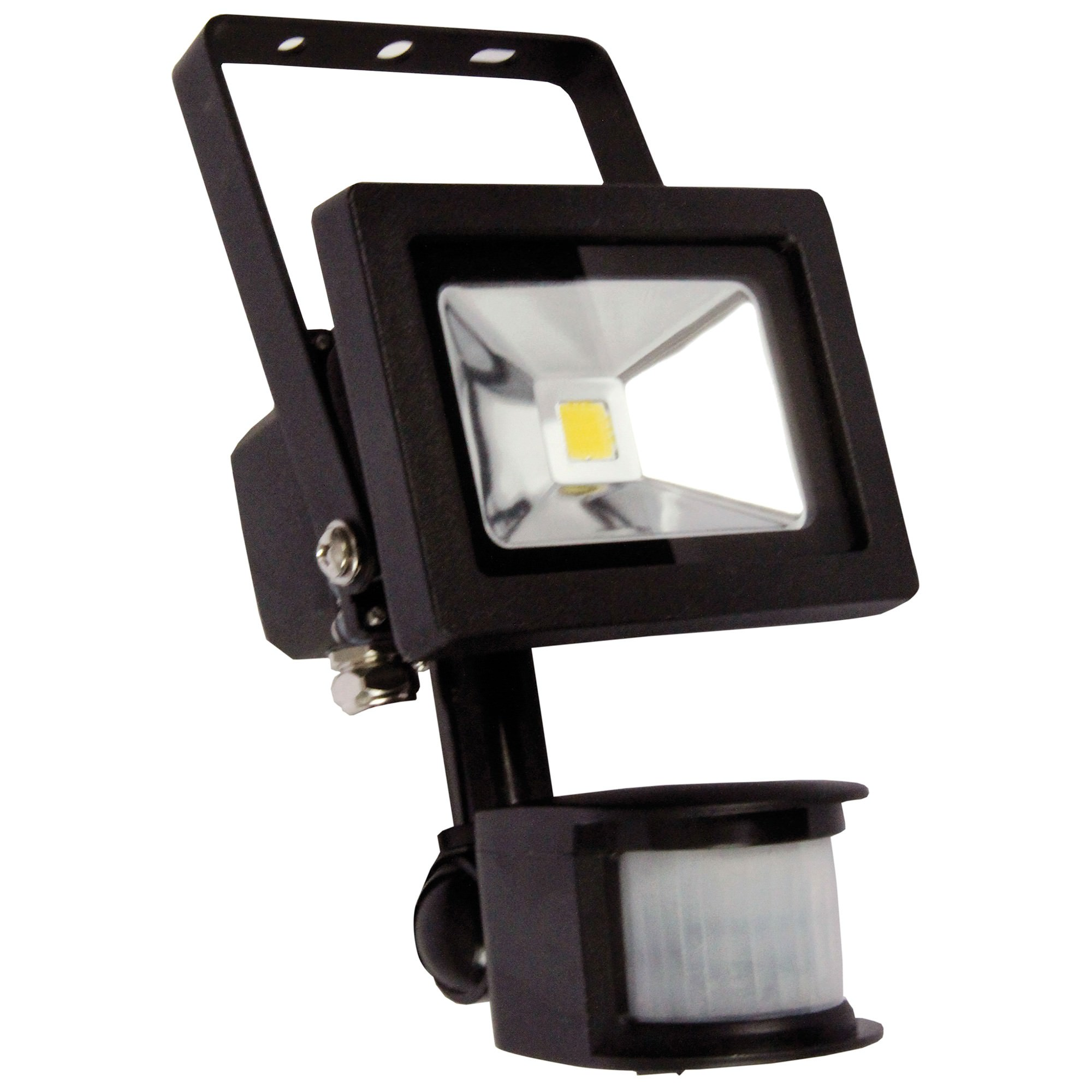 Foco IP44 LED Floodlight with Sensor, 10W, Black