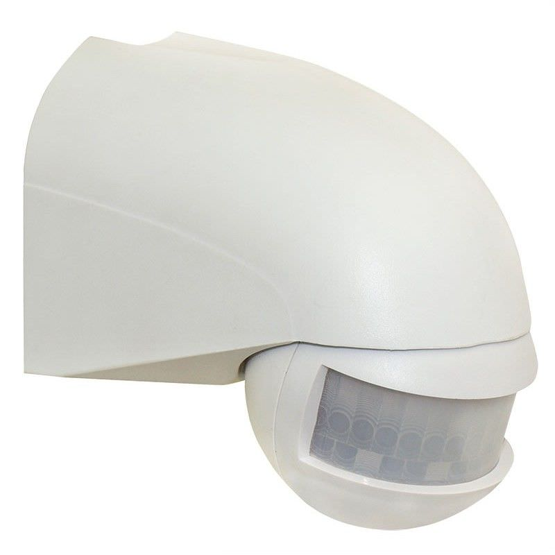 Wall Mounted 180 Degree Lightwatch Motion Sensor - White (Oriel Lighting)