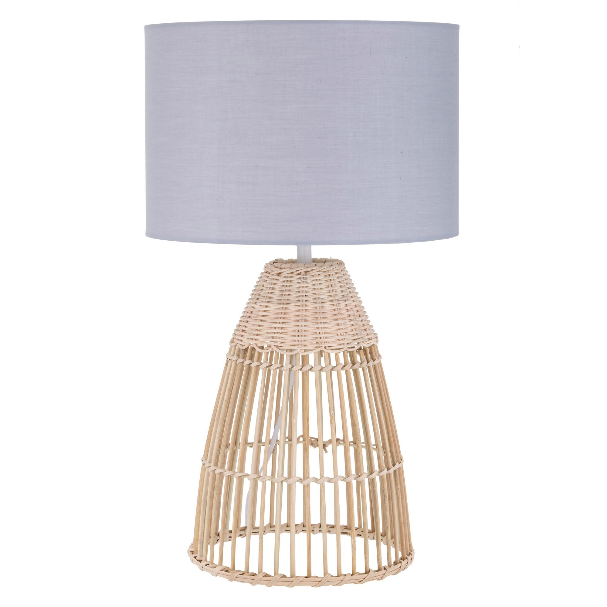 Foster Rattan Base Table Lamp