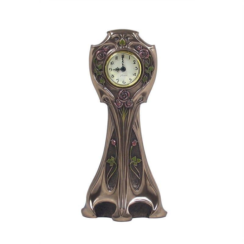 Cast Bronze Mackintosh Table Clock