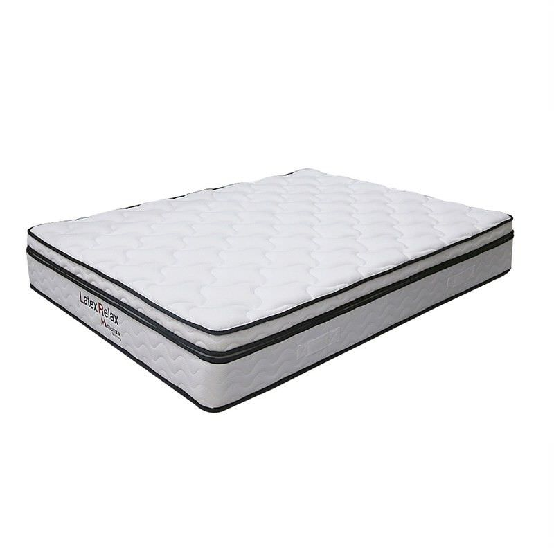Latex Relax Soft Mattress with Latex Pillow Top, King