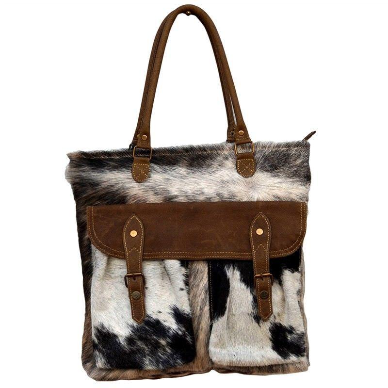 Coolinda Cowhide Tote Bag