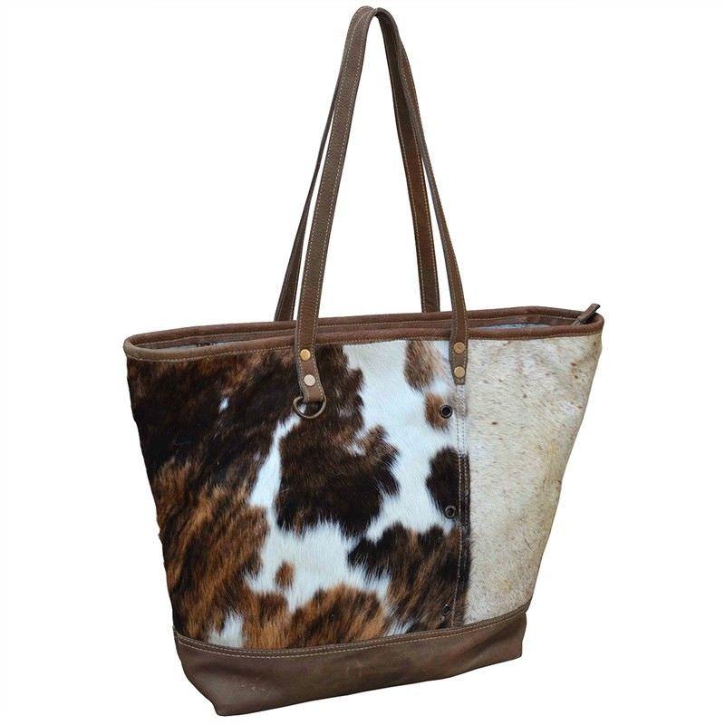 Buckleys Cowhide Boat Handbag