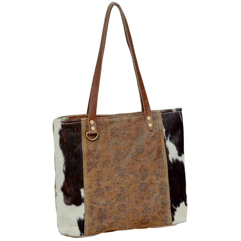 Loxford Cowhide Tote Bag