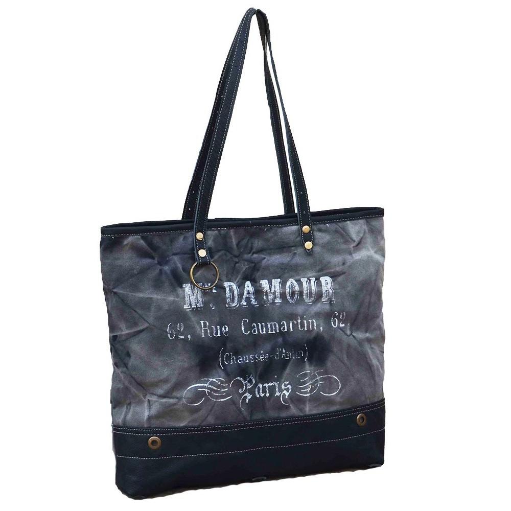 Damour Canvas Handbag