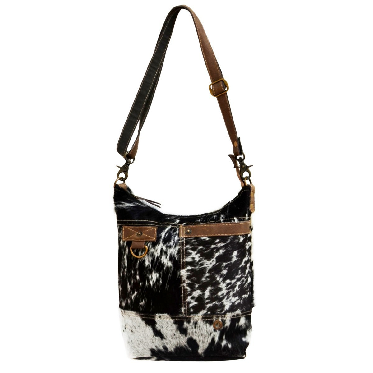 Virginia Cowhide Tote Bag