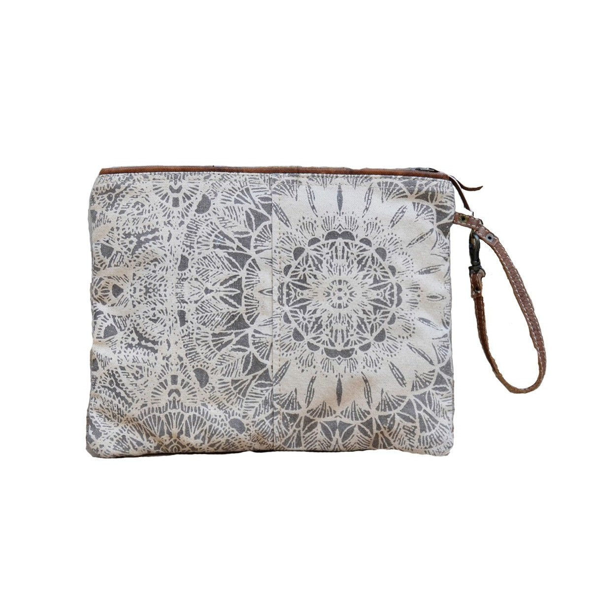 Cheyenne Hanna Canvas Clutch Bag