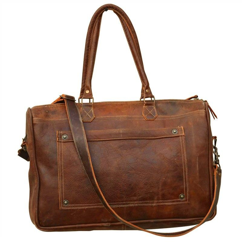 Stepney Leather Satchel Bag