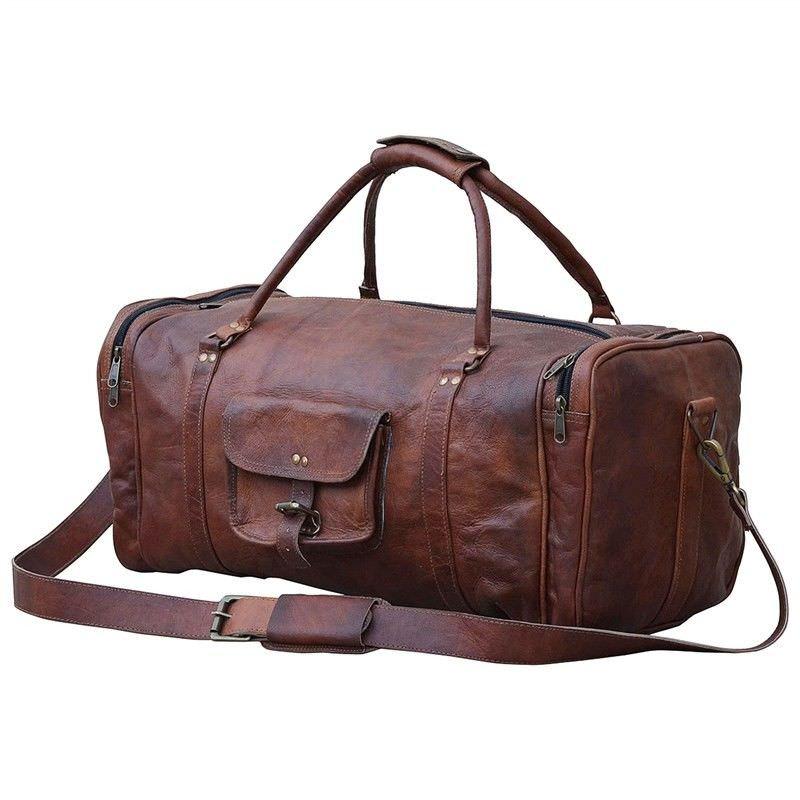 Dulwich Leather Duffle Bag