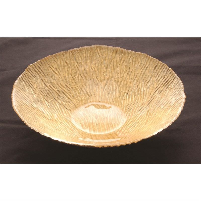 Bowl with Tree Deco in Gold