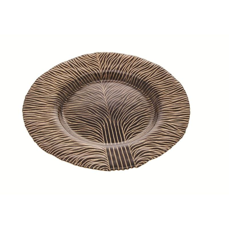 Plate Tree Deco in Brown
