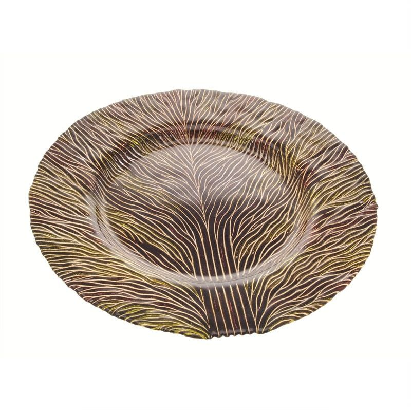 Plate Tree Deco in Green-Brown