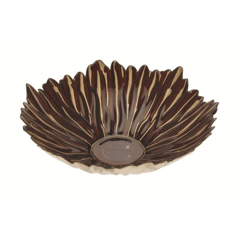 Glass Bowl in Brown