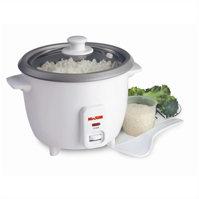 Maxim 3 Cup Rice Cooker Steamer Ideal For Couples And Students