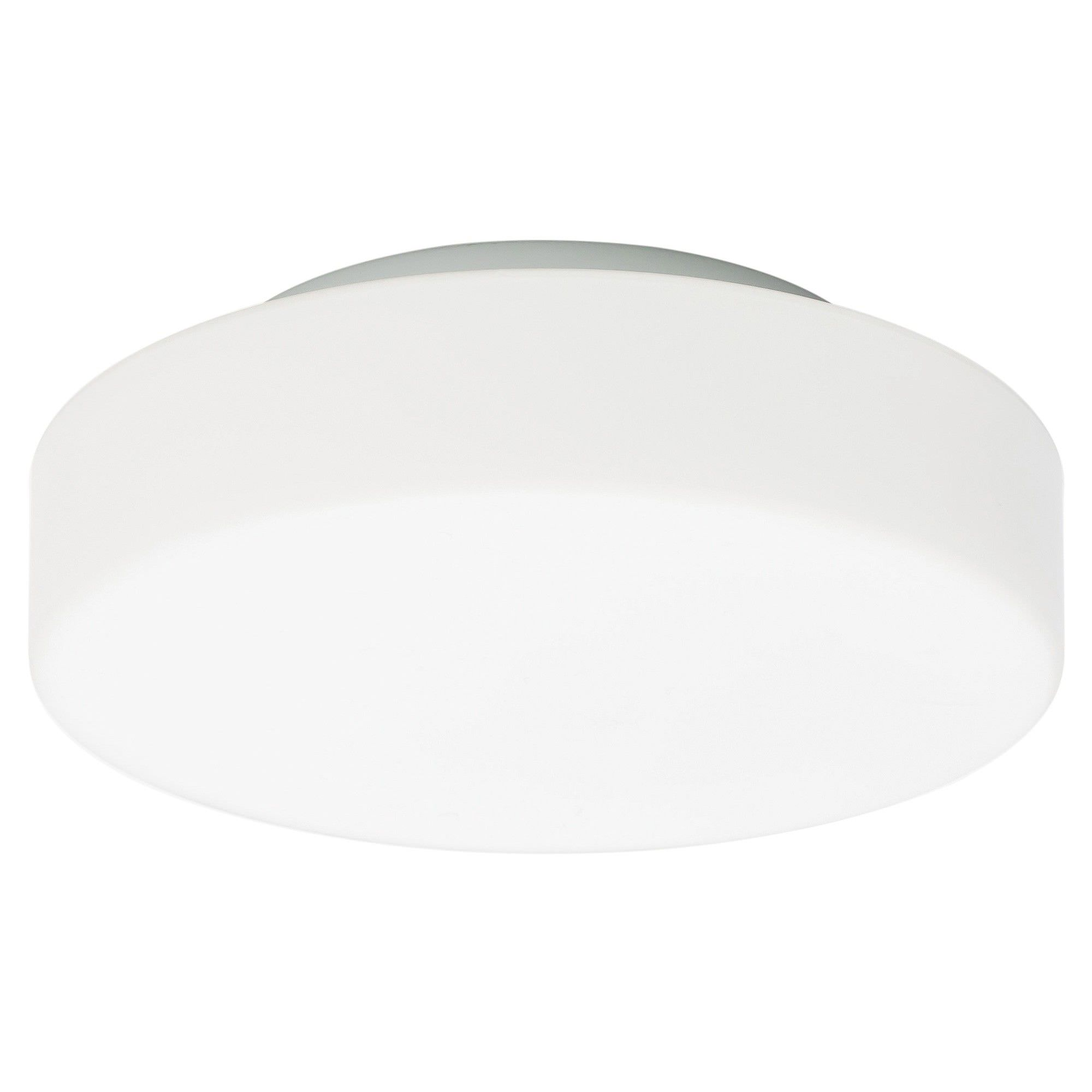 Bolero Opal Glass Oyster Ceiling Light, Medium