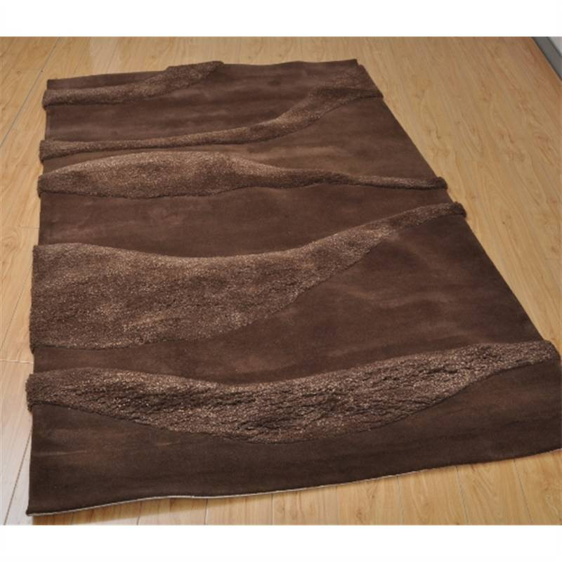 Brown Contemporary Rug 160 X 230CM