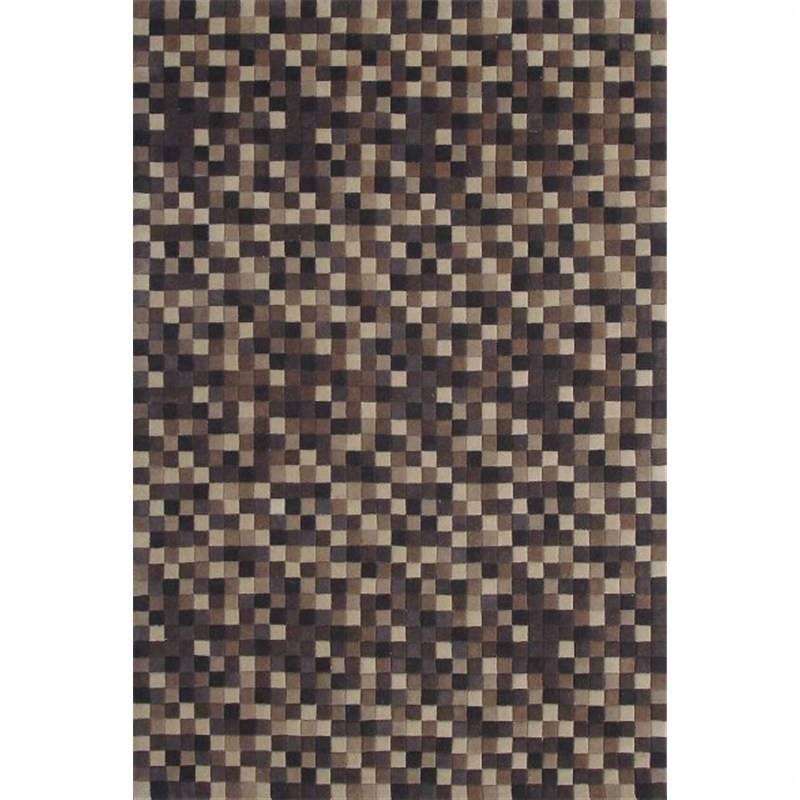 Mosaic Choc Contemporary Rug 160 X 230CM