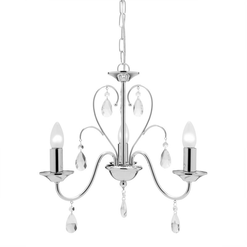 Fiorelli 3 light Chandelier