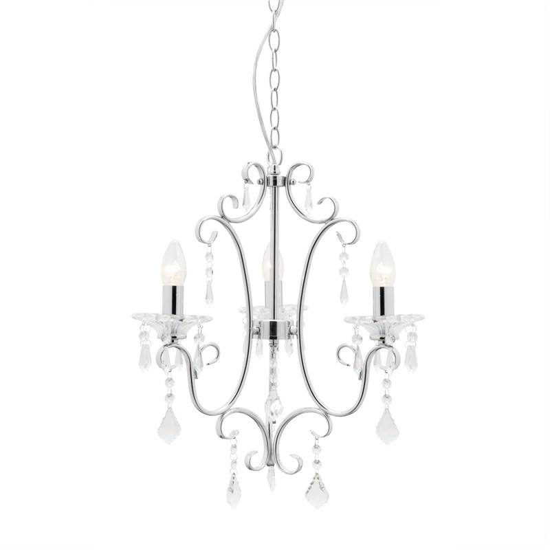Constance 3 light Chandelier