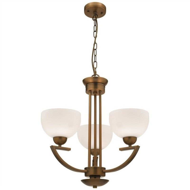 Hepburn 3 Light Chandelier