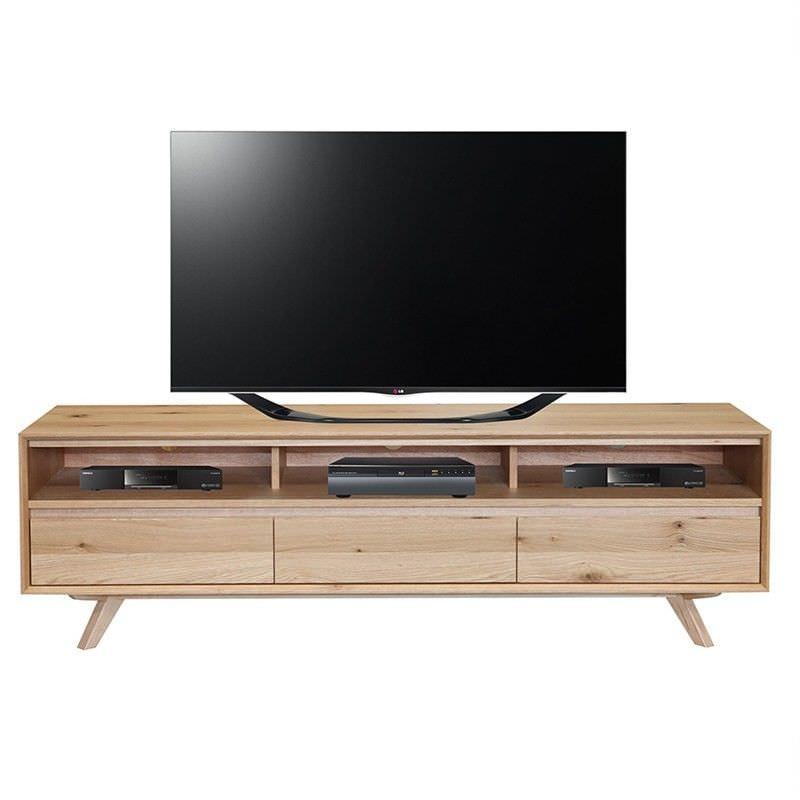 Pruden American Oak TV Unit - 180cm