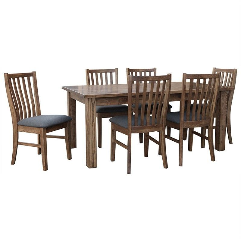 Hawthorn Solid American Oak Timber 180cm Dining Table (Table only)