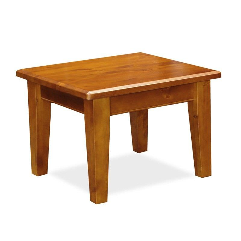 Alford Solid Pine Lamp Table in Blackwood