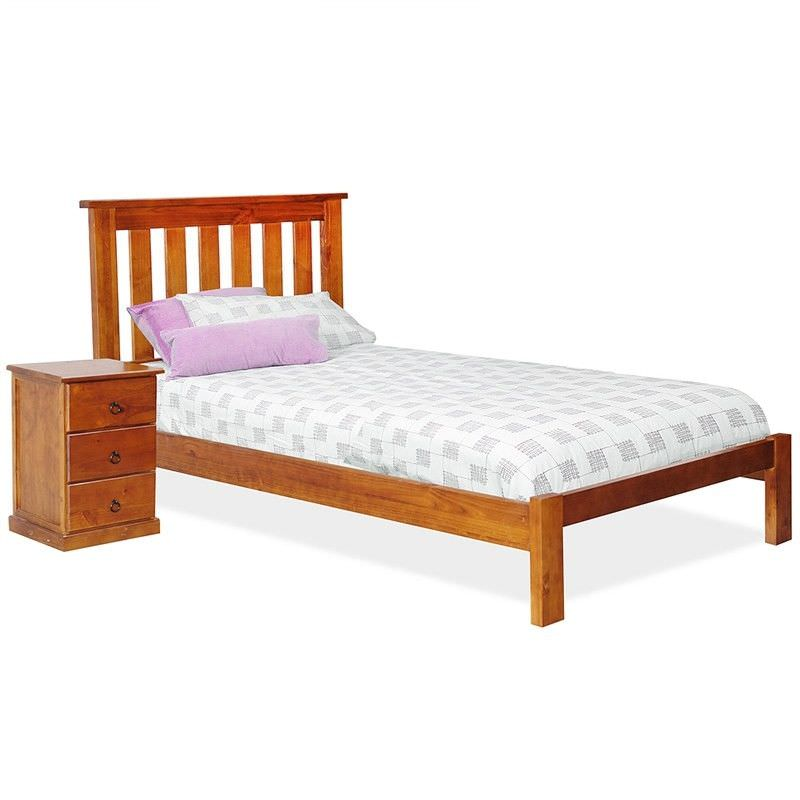 Alford Pine Timber Bed, Single
