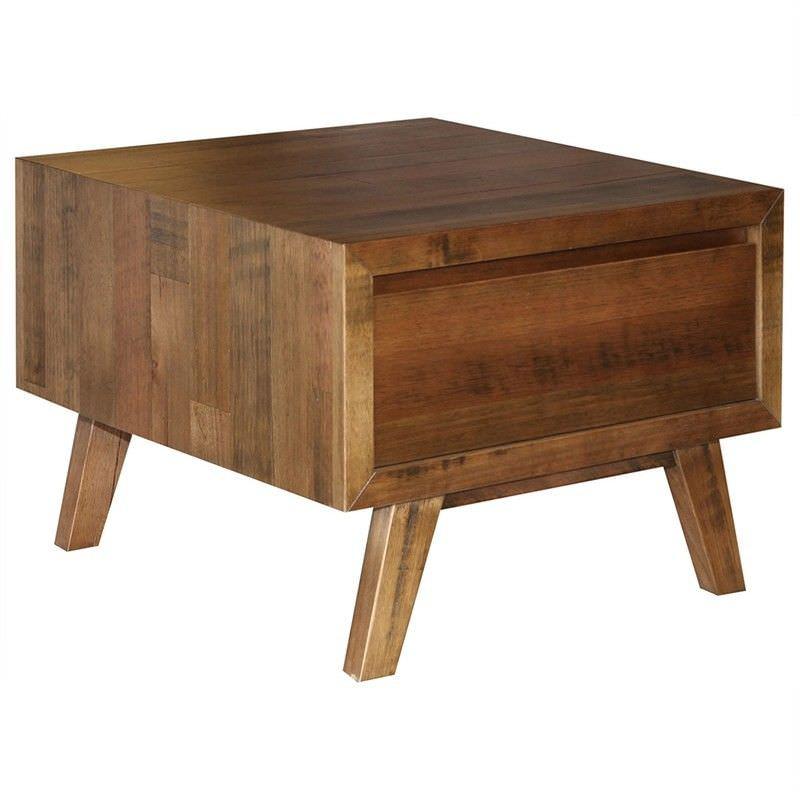 Moller Solid Tasmanian Oak Timber Lamp Table