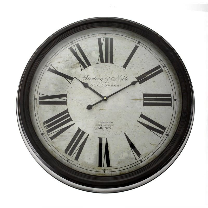 Sterling Noble Clock 32cm