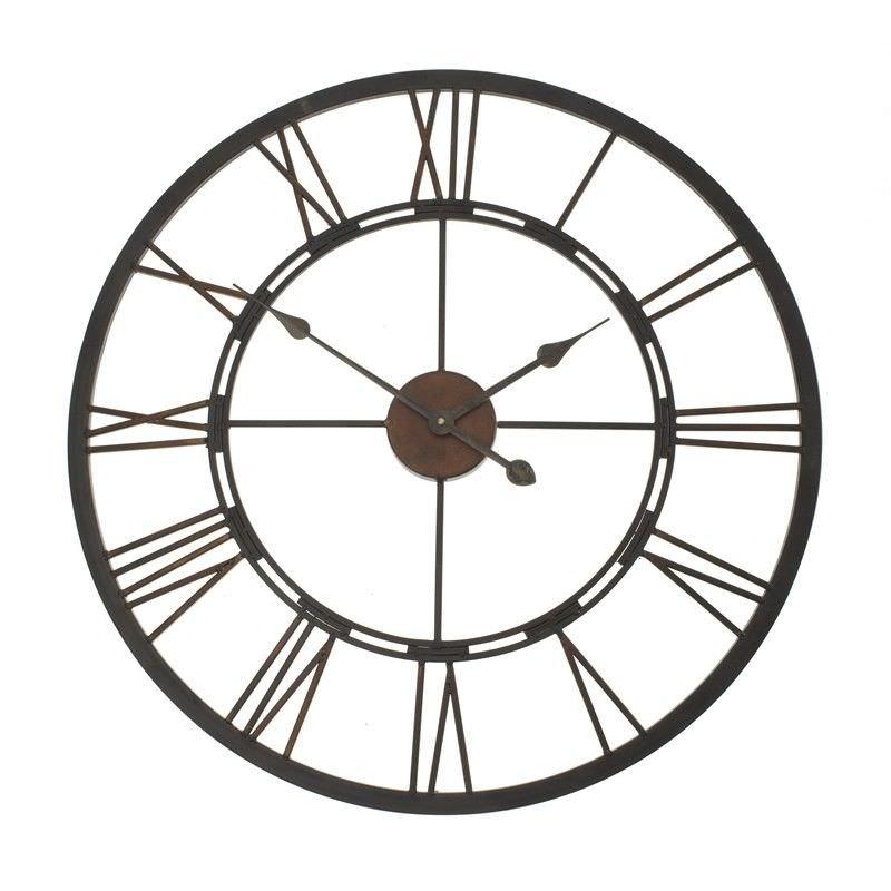 Iron Clock 68cm