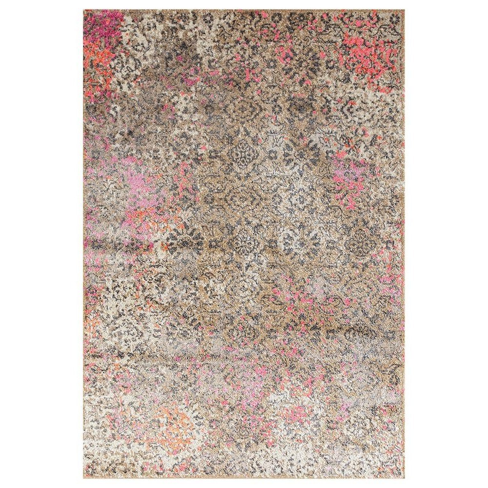Medina Danica Transitional Rug, 150x220cm, Pink