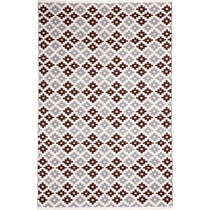 Megh 150x240cm Cotton Rug - Beige
