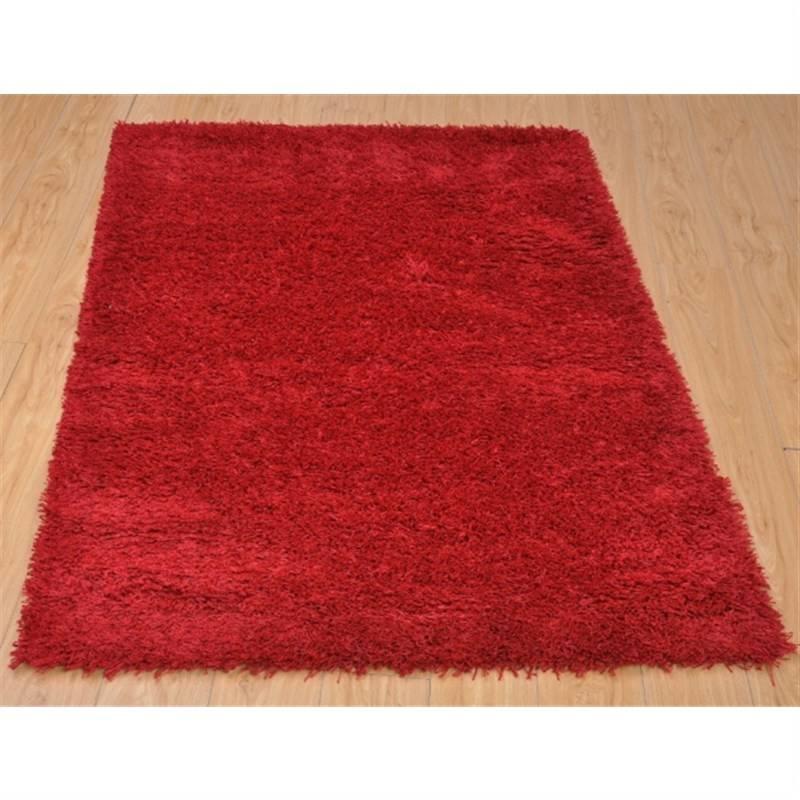 Red Shag Rug 120 x 170cm