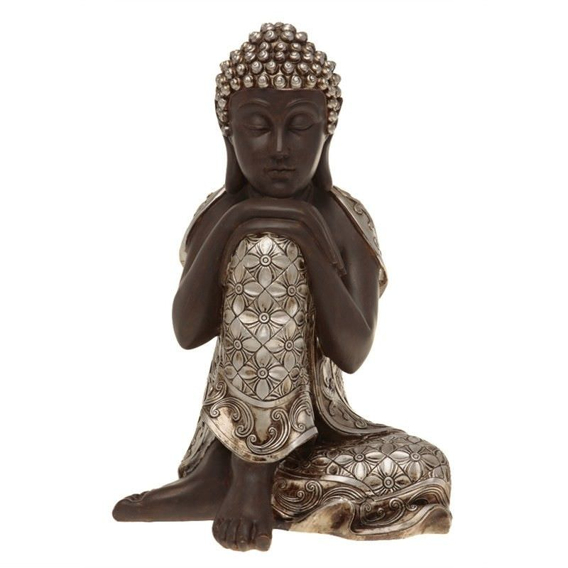 38cm Large Buddha in relaxed resting position