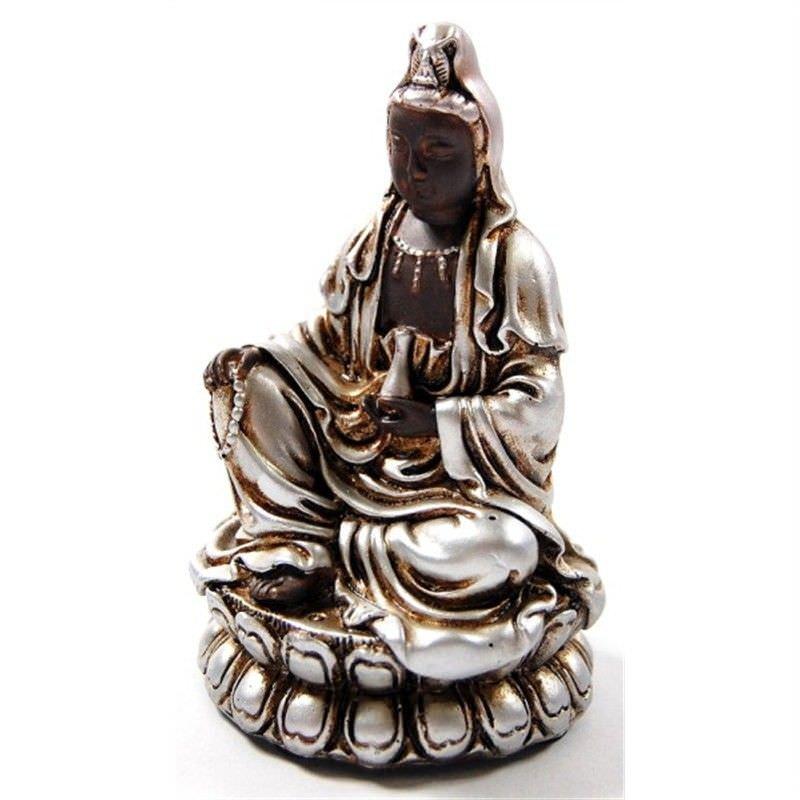 9.5cm Buddha on cushion