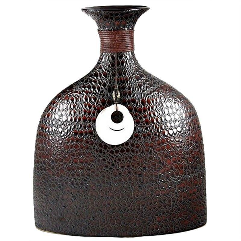 33cm Croc Skin Design Vase