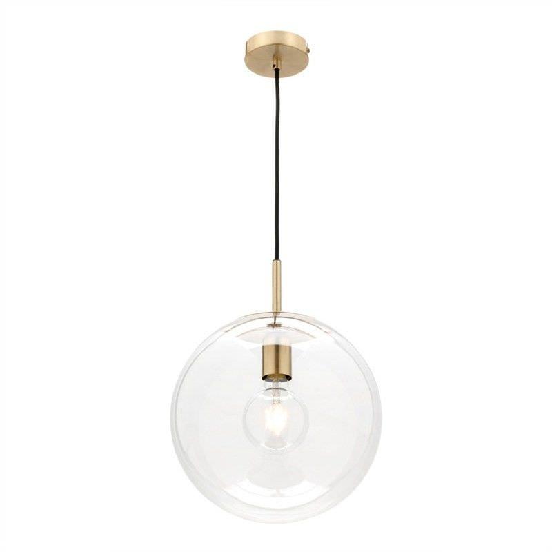 Madrid Glass Shade Pendant Light, Medium