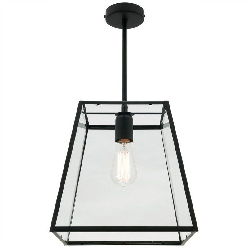 Manchester Metal & Glass Pendant Light, Large
