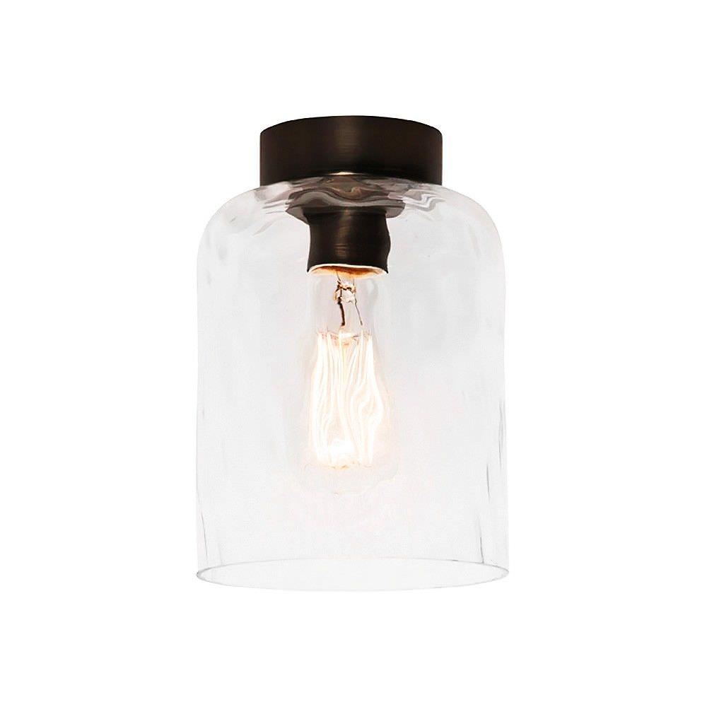 Southport DIY Glass Batten Fix Ceiling Light Shade, Clear