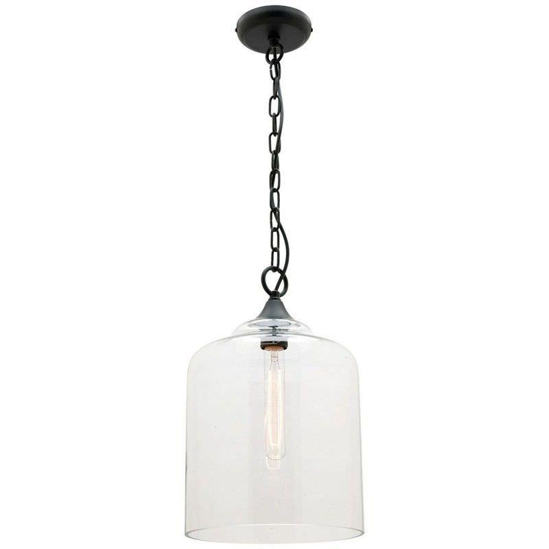 Hampton Glass Shade Pendant Light, Small