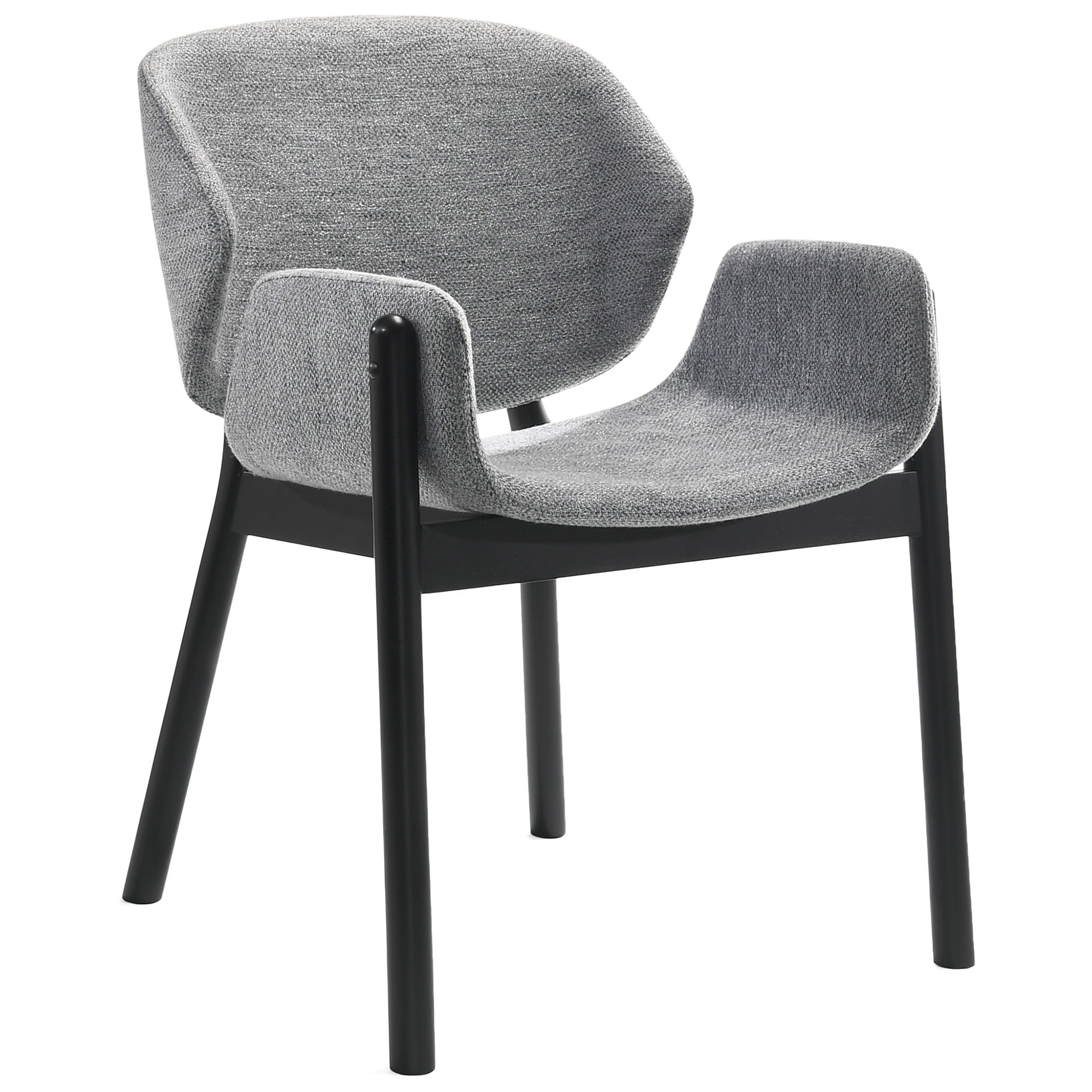 Kenji Commercial Grade Fabric Dining Chair