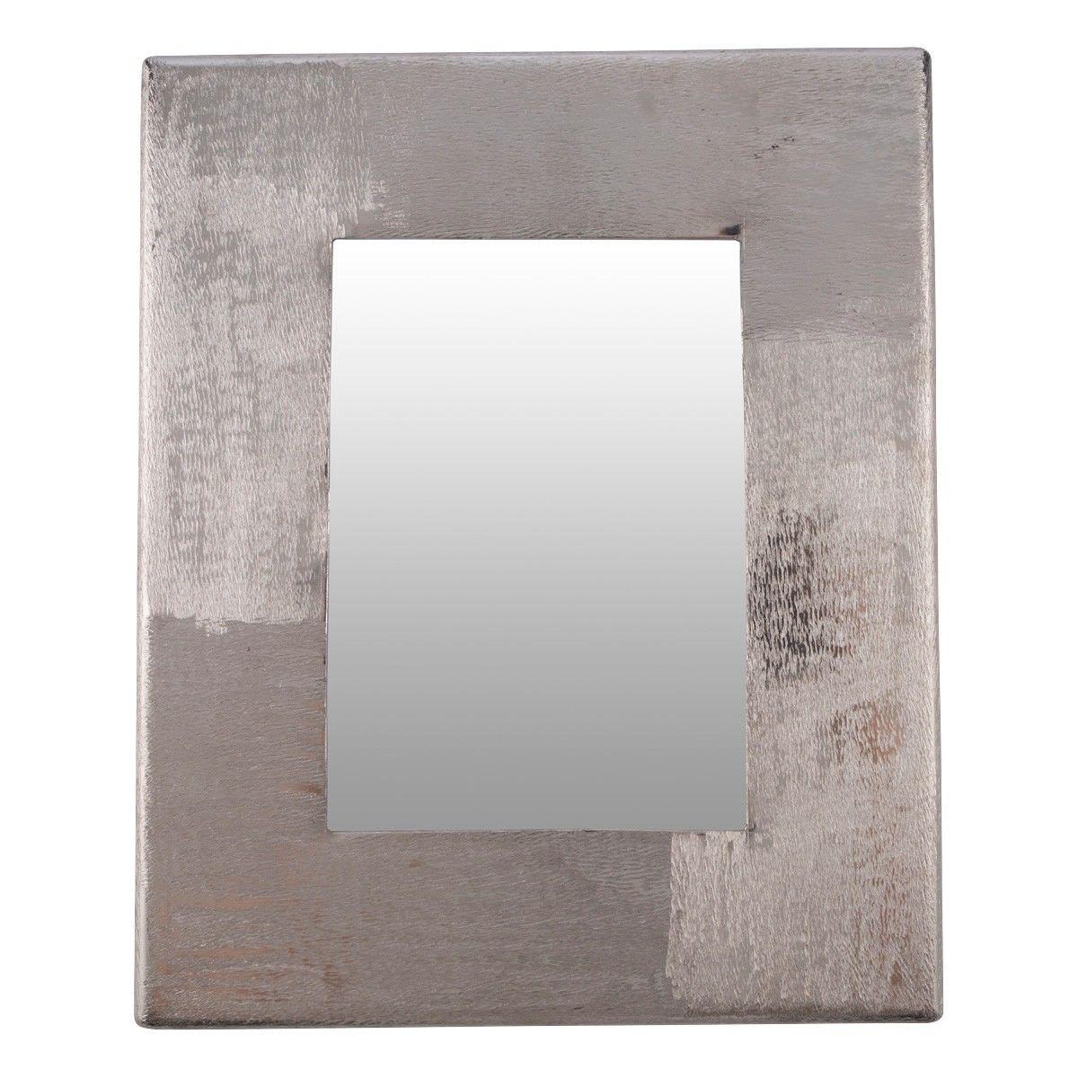 "Bromley Aluminium Photo Frame, 4x6"", Dark Silver"