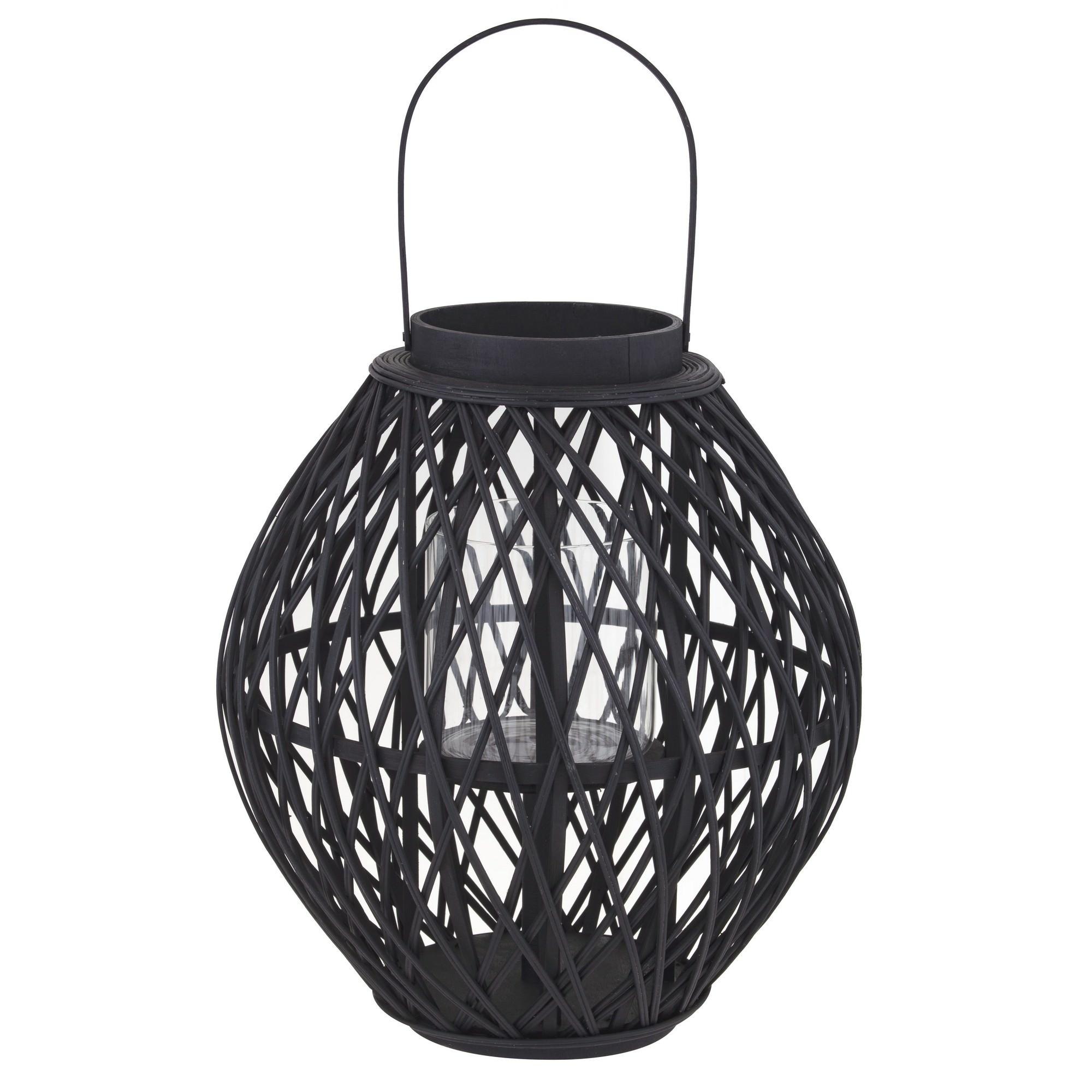 Starling Bamboo Rattan Lantern, Large