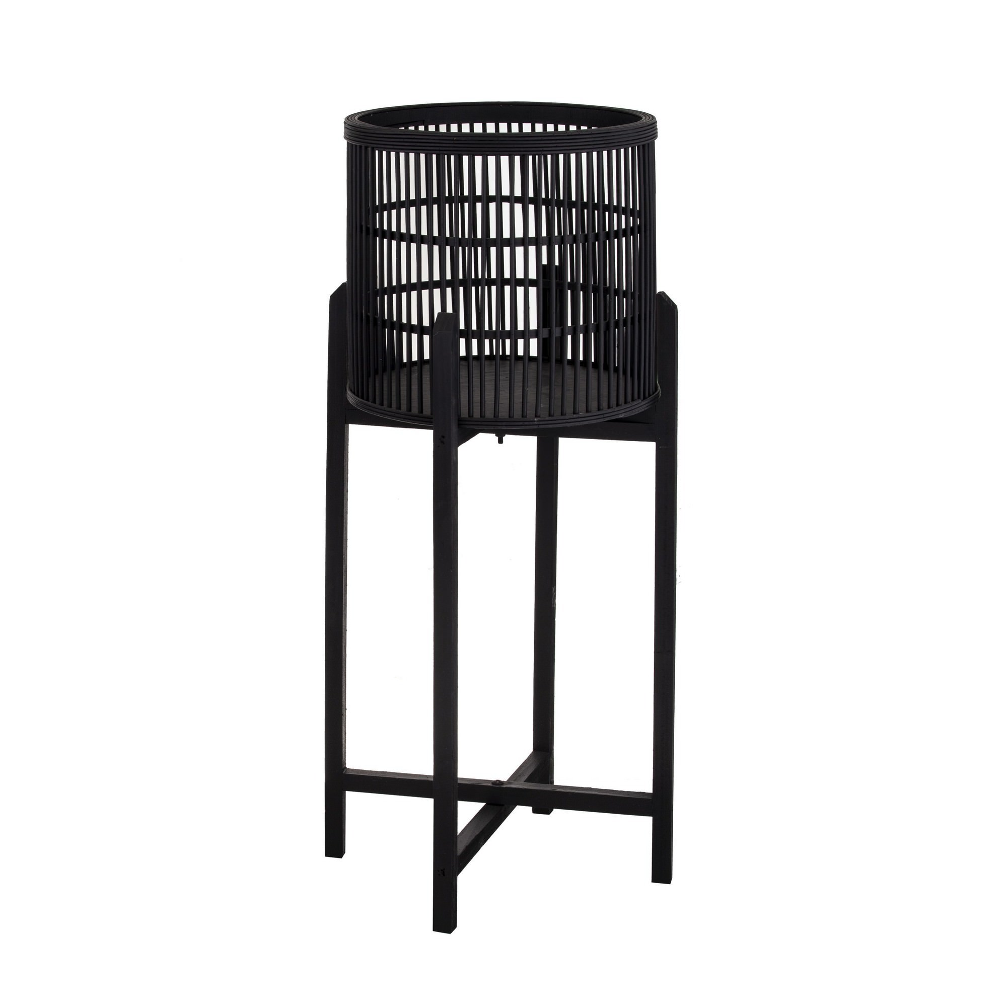 Holbrook Bamboo Planter Stand, Large