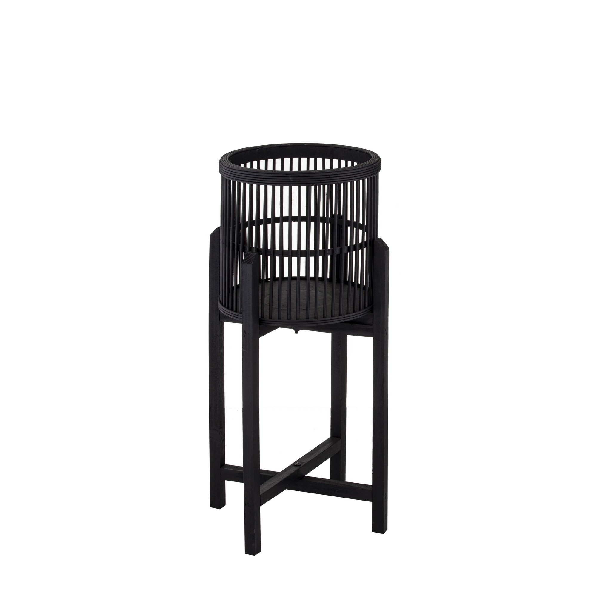 Holbrook Bamboo Planter Stand, Small