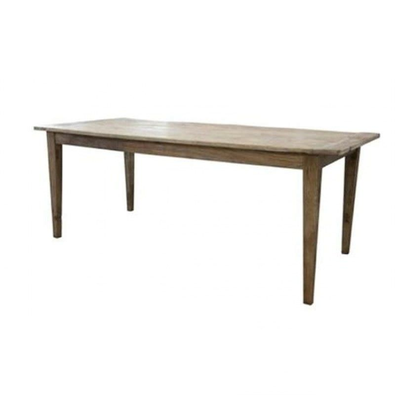 Dashwood Solid Elm Timber 200cm Dining Table
